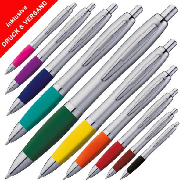 Kugelschreiber schnell und günstig mit Logo online bedrucken