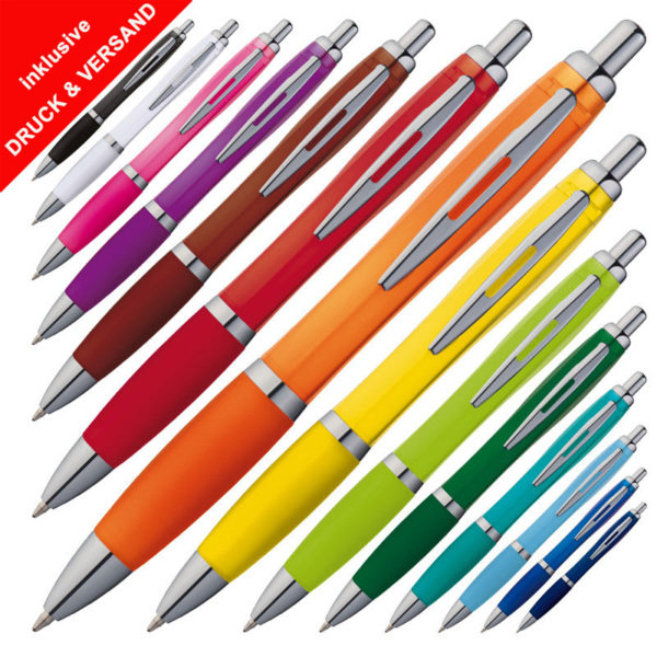 Kugelschreiber günstig mit Logo
