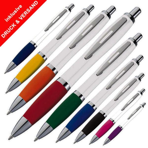 Kugelschreiber günstig mit Logo bedrucken