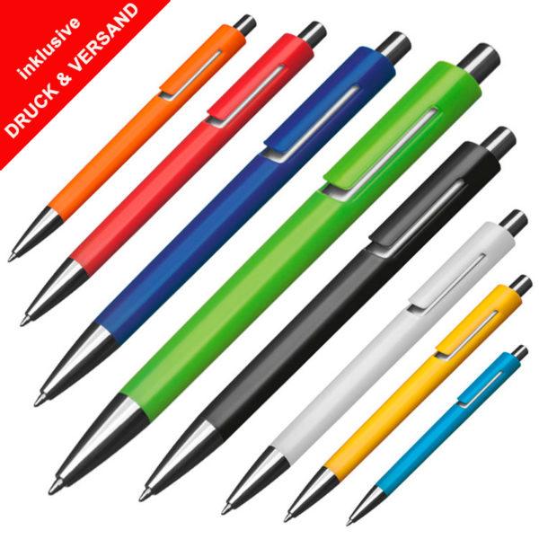 Kugelschreiber Madrit günstig mit Logo bedrucken