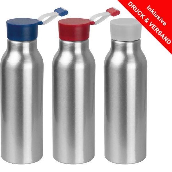Trinkflasche mit Logo